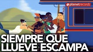 MAYKEL BLANCO Y SU SALSA MAYOR - Siempre Que Llueve Escampa (Animated Official Video HD)