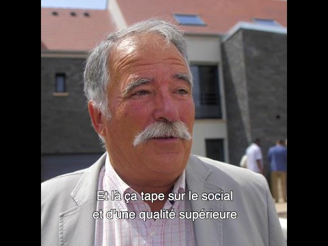 ALILA - Inauguration de OPUZ VERDE à Bonnières - Alain PEZZALI - Pdt de Communauté de Communes