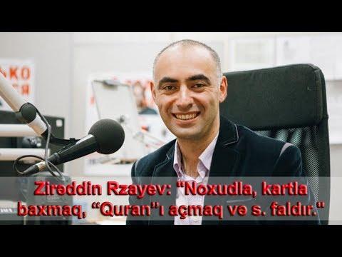 Zirəddin Rzayev Noxudla Kartla Baxmaq Quran I Acmaq Və S Bunlar Faldir Youtube