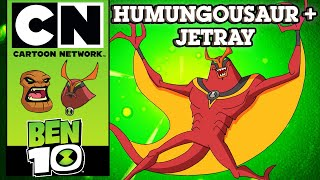 Ben 10 | The Power Of 10: Humungousaur + Jetray | Cartoon Network UK