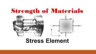 Strength of Materials (Part 5: Stress Element)