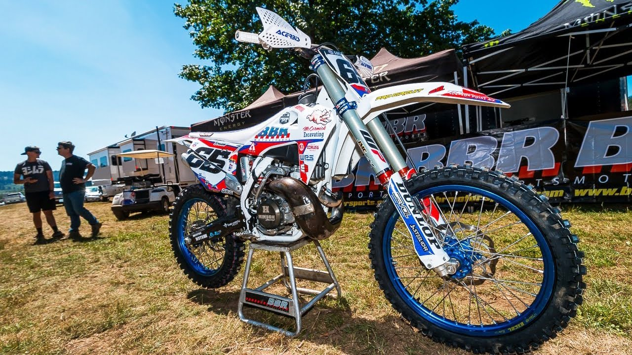 Racing a Two Stroke at Washougal National! with Carson Brown - Motocross Action Magazine