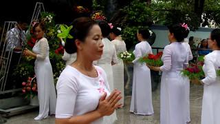 Múa Tiến hoa Năm sắc Tây Ninh