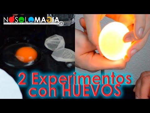 2 Experimentos Con Huevos   Ciencia Mágica   No Solo Magia