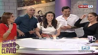 Tonight with Arnold Clavio: Laglagan with T.G.I.S. casts