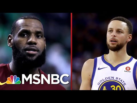 President Donald Trump: We're Not Going To Invite Either NBA Team | Deadline | MSNBC