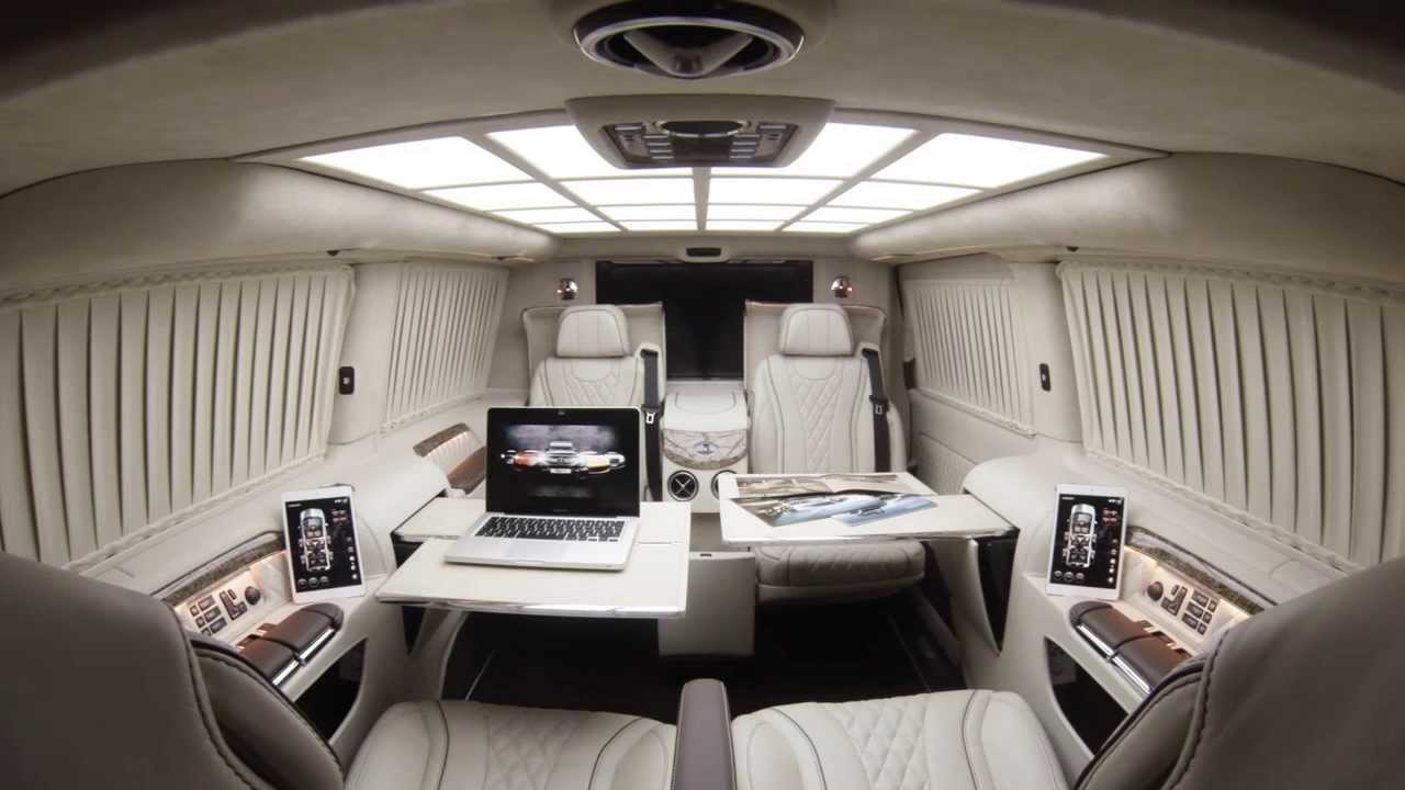 TECHINTACTO® V-Class | Luxury Business Van | VIP Business ...