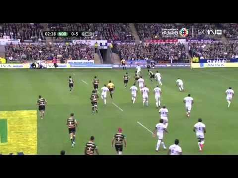 Duncan Taylor se la pète en demi-finale de Premiership