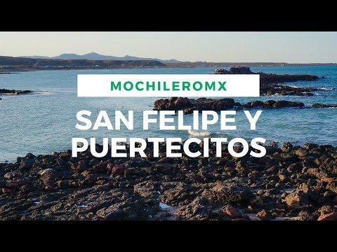 MOCHILEANDO | San Felipe, Puertecitos, Baja California.