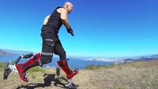 Bionic Boot - Sprinting Power Boots With Speed Of 40 Km/h [720p]