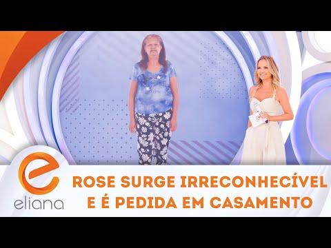 Participante surge IRRECONHECÍVEL e é pedida em casamento! | Programa Eliana (05/08/17)