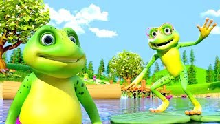 Five Little Speckled Frogs | Nursery Rhymes for Children by Little Treehouse