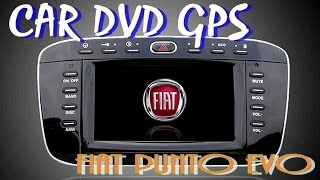 Autoradio Fiat punto Evo GPS.CD.DVD.BLUETOOTH.USB.SD CARD.TV