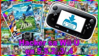 HACK SA Wii U EN 5.5.2!
