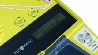 French AED defibrillator Powerheart G3 Plus user demo Cardiac Science