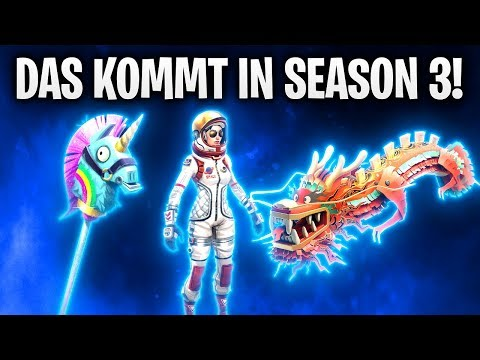 DAS KOMMT IN SEASON 3! 👨🚀 | Fortnite: Battle Royale
