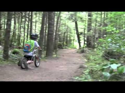 jackson run bike to kindergarten