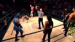Ivelisse/Angelico/Son of Havoc Vs  Drago/Aerostar/Fenix