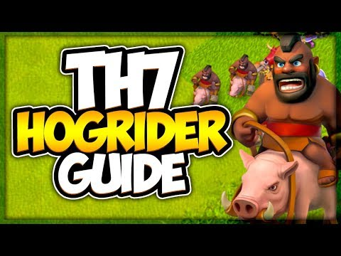 TH 7 How To Use Hog Riders | Best Town Hall 7 Attack Strategy | Clash Of Clans
