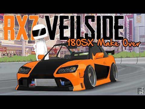 Han's RX7 Veilside & Gymkhana New Physic Test | FR Legends Gameplay And Car Make Over