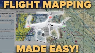 DRONE FLYING -  FLIGHT MAPPING MADE EASY!