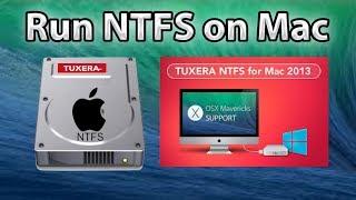 Як використовувати NTFS на Mac (Tuxera NTFS)в