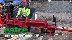Estre hydraulinen puunhalkaisija