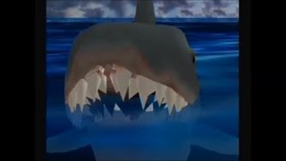 Universal Studios Theme Park Adventure Part 3 Jaws Attraction