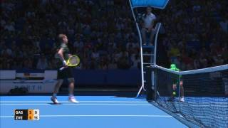 Captivating rally from Gasquet and Zverev - Mastercard Hopman Cup