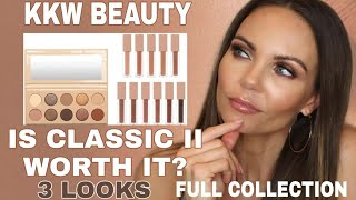 NEW KKW BEAUTY CLASSIC II COLLECTION | 3 LOOKS | GLOSS TRY ON