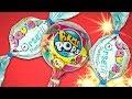 Сюрпризы и игрушки Сквиши. Видео для детей