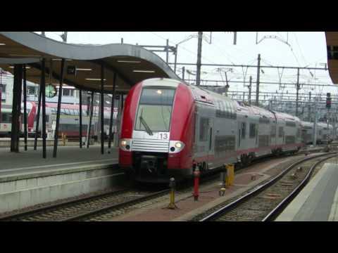Trains @ Gare de Luxembourg ville (Zuchs gare Lëtzebuerg)