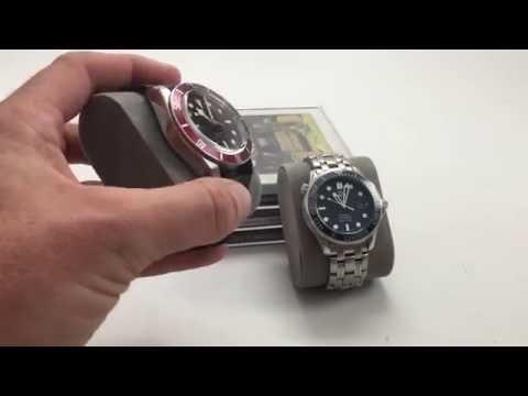 Tudor Heritage Black Bay vs Omega Seamaster Professional Ceramic - YouTube