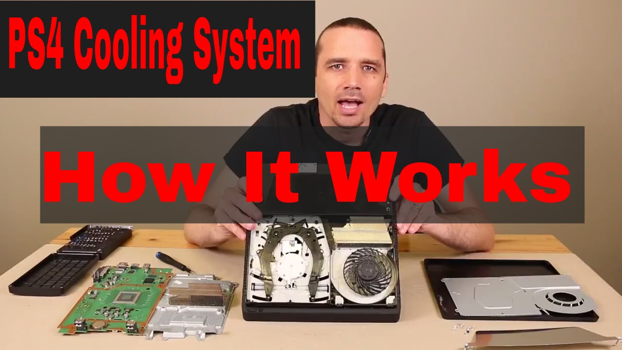 Ps4 Cooling System How It Works See Working Youtube The P S Cooler Which I Would Recomend Using Here Is A Better Diagram