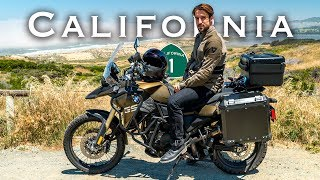 California Motorcycle Camping Adventure |  San Luis Obispo to Paso Robles (Day 3)