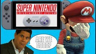 SNES Games Won't Fix Nintendo Switch Online - FUgameCrue