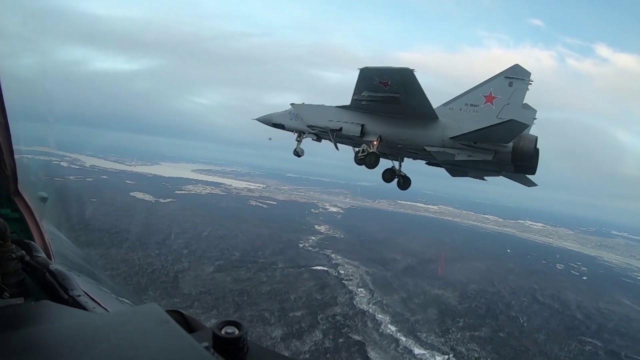 Летчики МиГ-31 продемонстрировали профессионализм в небе Перми