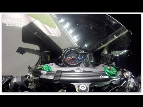 画像: Kawasaki H2R Onboard Lap With Bike World youtu.be