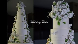 Easy 6 Tiered Dummy Wedding Cake – Bruno Albouze – THE REAL DEAL