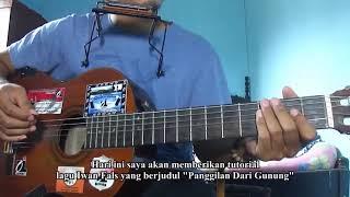 belajar gitar - chord gitar ( iwan fals panggilan dari gunung )