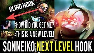NaVi SoNNeikO is BACK! Pudge Best Magical Hooks Next Level Hook Dota 2