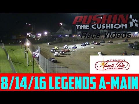 8/14/16 Angell Park Speedway Legends Feature