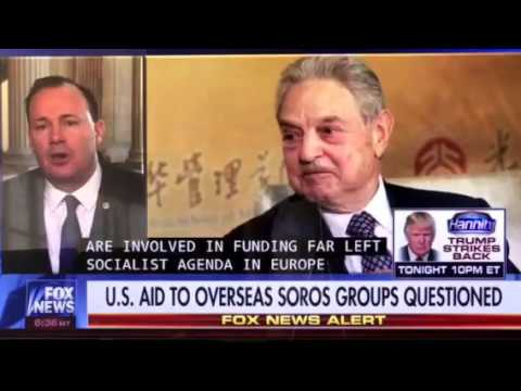 Mike Lee: Taxpayer Dollars Going to Global George Soros Socialist Groups