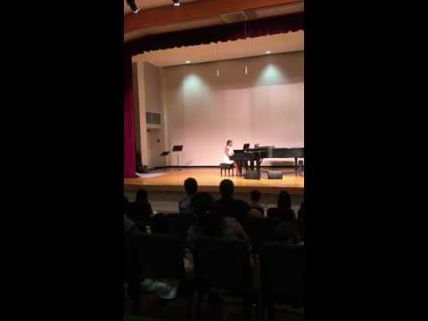 """Alexia Joseph playing """"Nocturne"""" by David Carr Glover"""