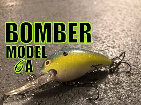 CRANKBAIT REVIEW: The Bomber Model 6A