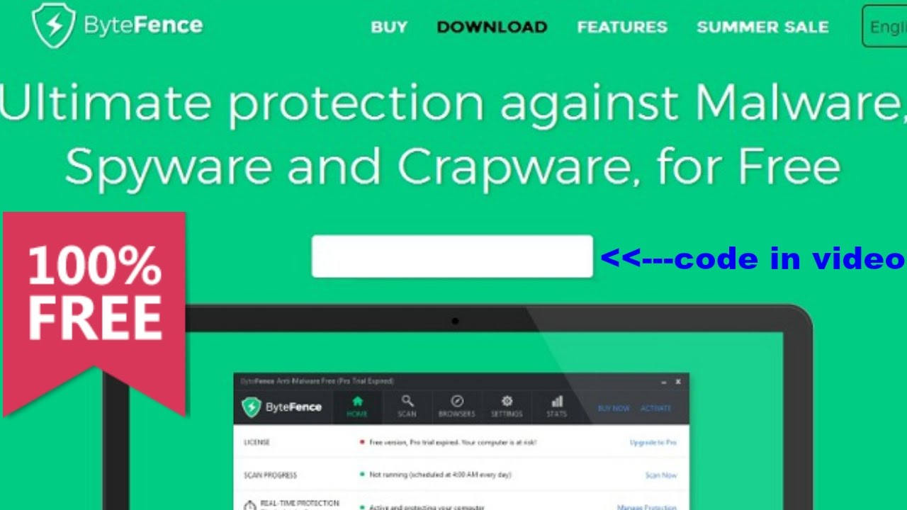 ByteFence Anti-Malware Pro 2.5.0.0 Activation key | 2017 # ...