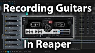 How To Record Metal Guitars In Reaper Using VSTs!
