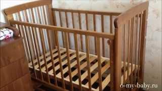 видео Детские кроватки Можга (Красная звезда)