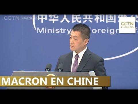 """La Chine ravie de la participation de la France à l'Initiative """"Ceinture et Route"""""""