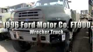 1996 Ford Motor Co FT900 6x6 Wrecker Truck on GovLiquidation.com